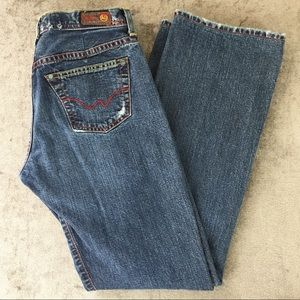 AG The Rider Denim Jeans Size 28R